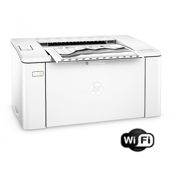Imprimanta laser alb negru HP LaserJet Pro M102w Monocrom Format A4 22ppm USB WiFi G3Q35A