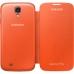 Husa Samsung Flip Cover pentru i9505 Galaxy S IV Orange EF-FI950BOEGWW