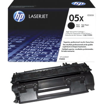 Cartus Toner HP Nr. 05X Black 6500 Pagini for LaserJet P2055, P2055D, P2055DN, P2055DN CE505X