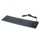 Tastatura Gembird KB-109F-B Flexibila PS2/USB Black
