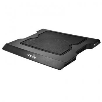 """Cooler Laptop Spire Aura rev.2 15.4"""" Black SP-313PB-V2"""