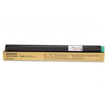 Cartus Toner Ricoh Type 1160W Black 2200 pagini for Aficio 240W, 470W, 480W, MP W2400, MP W3600 888029