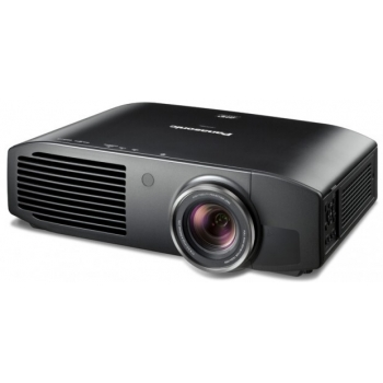Proiector PANASONIC 3D PT-AT6000, 3LCD, FHD 1920x 1080, 2400 lumeni, 500.000:1, lampa 5000 ore, HDMI, D-sub, Component, S-Video, RGB, RS232, greutate 8.7 kg, Telecomanda, optional ochelari TY-EW3D3M, culoare alb