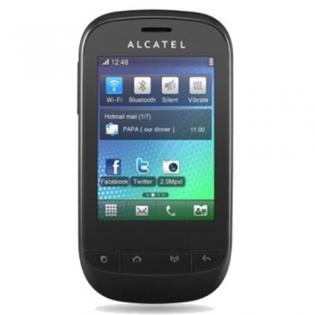 Telefon Mobil Alcatel One Touch 720 Black Wi-FI ALC720BLK