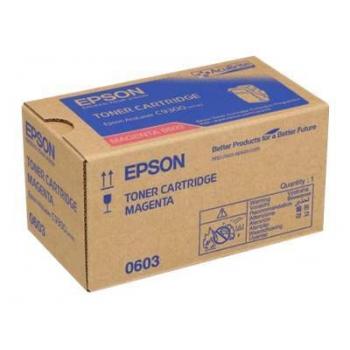 Cartus Toner Epson C13S050603 Magenta 7500 Pagini for Aculaser C9300D2TN, C9300D3TNC, C9300DN, C9300DTN, C9300N, C9300TN