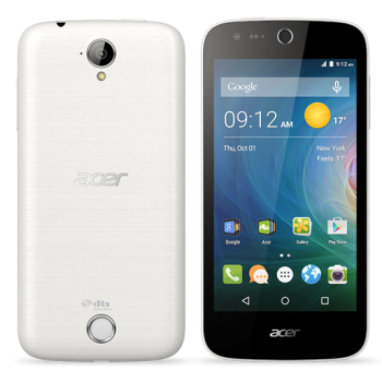 LIQUID Z330 4.5IN WHITE 1GB 8GB 3G ANDROID 5.1 IN