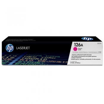 Cartus Toner HP Nr. 126A Magenta 1000 Pagini for LaserJet Pro CP1025, CP1025NW CE313A