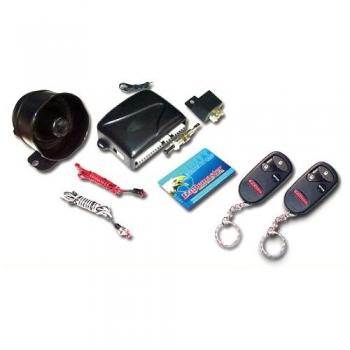 Alarma auto CL2000T antiscanare, anticarjack,Sirena multiton, senzor soc cu doua praguri reglaj separat,2 telecomenzi cu 4 butoane, releu semnalizare, blocare motor