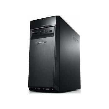 Desktop Lenovo IdeaCentre H50-50, Intel Core i7-4790 (3.60GHz, 1600MHz, 8MB), video dedicat GeForce GT730 2GB, RAM 8GB DDR3 1600MHz (1x8GB), HDD 1TB 7200rpm, DVD-Rambo, Porturi: 4xUSB 2.0/ 2xUSB 3.0/ 1x VGA/ 1xRJ45/ 1xaudio, Card reader: 7-1, WLAN 802.11