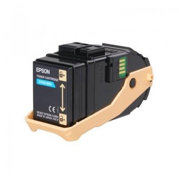 Cartus Toner Epson C13S050709 Cyan 7500 Pagini for Aculaser C9300D2TN, C9300D3TNC, C9300DN, C9300DTN, C9300N, C9300TN