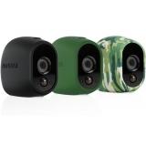 ARLO WIRE-FREE CAMERA Silicone SKIN PACK - Black/Green (VMA1200)