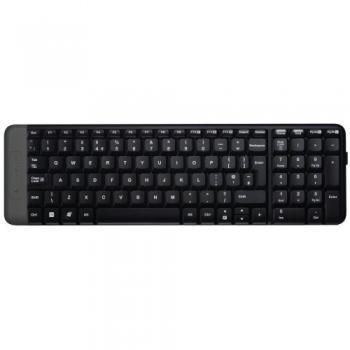 Tastatura Wireless Logitech K230 2.4 GHz Long Battery Life black 920-003347