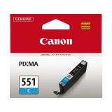 Cartus Cerneala Canon CLI-551C Cyan 7ml for IP7250, MG5450, MG6350 BS6509B001AA