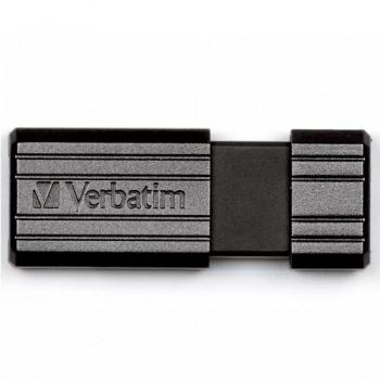 Memorie USB Verbatim PinStripe 16GB USB 2.0 Negru VB-49063