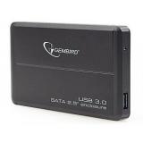 HDD enclosure Gembird EE2-U3S-2 2.5'' SATA - USB 3.0 Aluminium Black