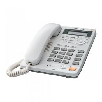 Telefon analogic Panasonic TS620FXW Caller ID alb