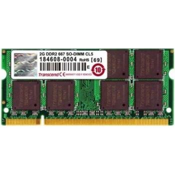 Transcend 2GB 667MHz DDR2 Non-ECC CL5 SODIMM [C7720357]