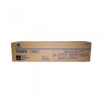Cartus Toner Konica Minolta TN-314K Black 26000 Pagini for Minolta BizHub C353 A0D7151