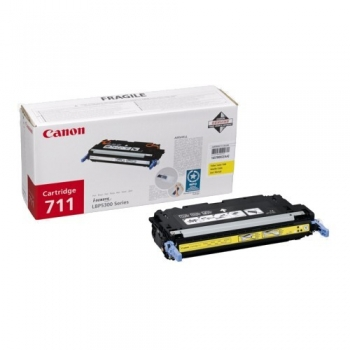 Cartus Toner Canon CRG-711Y Yellow 6000 Pagini for LBP 5300, LBP 5360, MF 9130, MF 9170, MF 9220CDN, MF 9280CDN CR1657B002AA