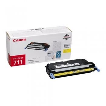 Cartus Toner Canon CRG-711Y Yellow 6000 Pagini for LBP 5300, LBP 5360, MF 9130, MF 9170, MF 9220CDN, MF 9280CDN CR1657B002AA