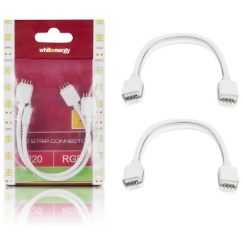 Whitenergy conector pt benzi LED (2 buc) 09812