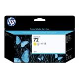 Cartus Cerneala HP Nr. 72 Yellow Vivera Ink 130 ml for DesignJet T1100, HP DesignJet T610 C9373A