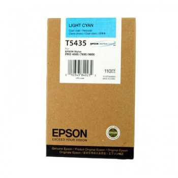 Cartus Cerneala Epson T5435 Light Cyan 110ml for Stylus Pro 4000, 7600, 9600 C13T543500
