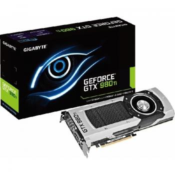 Placa Video Gigabyte nVidia GeForce GTX 980 Ti 6GB GDDR5 384 bit PCI-E x16 3.0 DVI HDMI DisplayPort GV-N98TD5-6GD-B