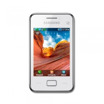 Telefon Mobil Samsung Star 3 S5220 White touch WiFI SAMS5220WHT