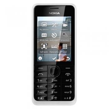 Telefon Mobil Nokia 301 White Camera Foto 3.15MPx NOK301WHT