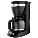 Cafetiera Heinner Savory 1100D 900W functie mentinere cafea calda, mecanism anti-picurare, cana de sticla 1.5L negru HCM-1100D