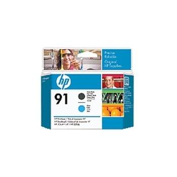 Cartus Cerneala HP 91 Matte Black and Cyan Printhead for Designjet Z6100 C9460A