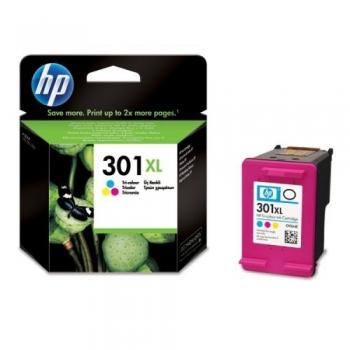 Cartus Cerneala HP Nr. 301XL Color Vivera Inks 330 Pagini for Deskjet 1000, 2000, 2050, 3000, 3050 CH564EE
