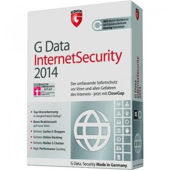 G Data Internet Security 2014 ESD Electronic 3 Calculatoare 1 an
