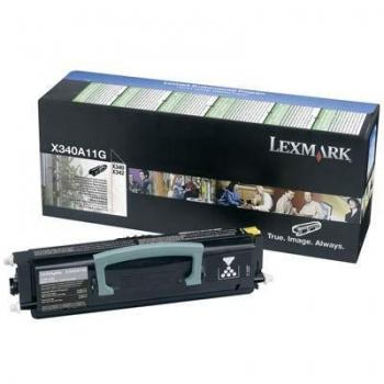 Cartus Toner Lexmark X340A11G Black Return Program 2500 pagini for X340, X340N, X342N