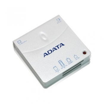 Card reader extern ADATA 52 in 1 52 in 1, suport SDHC, CF type I and II, MMC / RS-MMC / MMCplus / MMCmobile, MS / MS Pro / MS Duo / MS Pro Duo, XD, microSD / M2 / MMCmicro cu adaptor USB 2.0 URAD52F5J