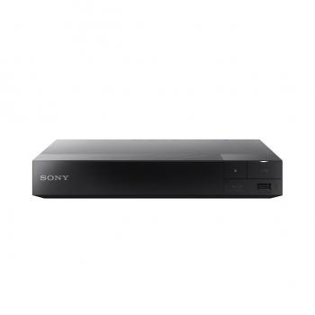 Blu-Ray player Sony BDP-S5500, 3D cu Super Wi-Fi, pornire rapida, USB play, HDMI, BRAVIA Sync, blocare acces copii/ control parental, greutate 0.8 kg, dimensiuni 23x 3.9x 19.4 cm, negru
