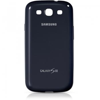 Husa Samsung Protective Cover+ pentru i9300 Galaxy S III Black EFC-1G6BBECSTD