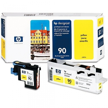 Cap Printare HP Nr. 90 Yellow for Designjet 4000, 4020, 4020PS, 4500, 4520, 4520 Scanner, 4520HD, 4520PS C5057A