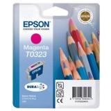 Cartus Cerneala Epson T0323 Magenta 420 Pagini for Stylus C70, Stylus C80 C13T03234010