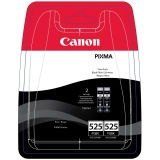 Cartus Cerneala Canon PGI-525PGBK Twin Black 2 Bucati for IP4850, MG5150/ 5250/ 6150/ 8150 BS4529B006AA