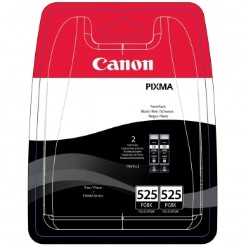 Cartus Cerneala Canon PGI-525PGBK Twin Black 2 Bucati for IP4850, MG5150/ 5250/ 6150/ 8150 BS4529B006AA