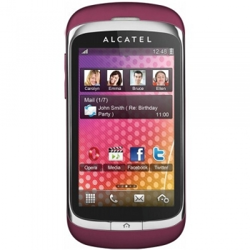 Telefon Mobil Alcatel One Touch 818 Mistery Pink ALC818MP