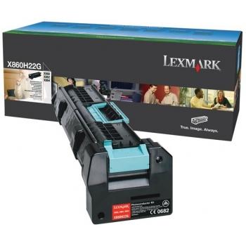 Unitate Cilindru Lexmark X860H22G Black 48000 Pagini for X860DE3, X860DE4, X862DE3, X862DE4, X864DE3, X864DE4
