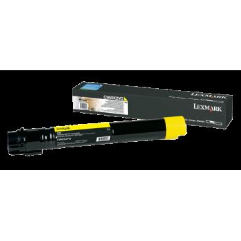 Cartus Toner Lexmark C950X2YG Yellow Extra High Yield 24000 Pagini for Lexmark C950DE