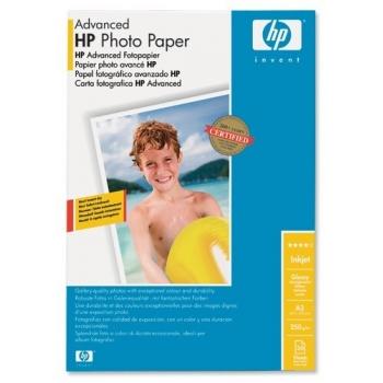 Hartie Foto HP Q8697A Advanced Glossy Photo Paper Dimensiune: A3 Numar coli: 20
