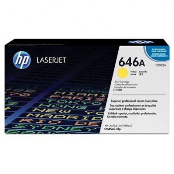 Cartus Toner HP Nr. 646 Yellow 12500 Pagini for Color LaserJet CM4540 MFP, CM4540F MFP, CM4540FSKM MFP CF032A