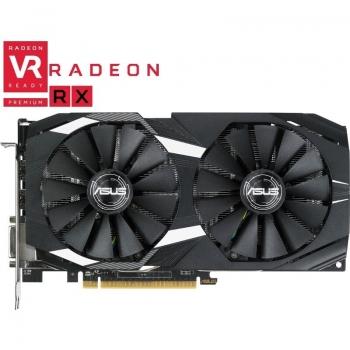 Placa Video Asus Radeon RX 580 Dual series 8GB GDDR5 256 bit PCI-E x16 3.0 DVI HDMI DisplayPort DUAL-RX580-O8G