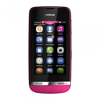 """Telefon Mobil Nokia Asha 311 Red3G 3"""" 240 x 400 pixeli Gorilla Glass 1000 MHz WiFi NOK311RED"""