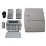 Kit DSC ALEXOR 1x centrala , 1x Tastatura WT5500, 2x Detectori WLS904 , 1x Telecomanda LCD, 1x Contact magnetic WLS4945